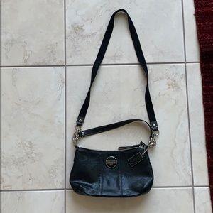 Lightly-worn COACH black purse